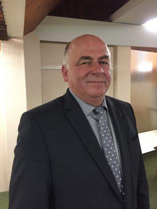 Bernard Sion, président de la FD Cuma 88
