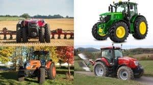 nouveaux tracteurs au sima