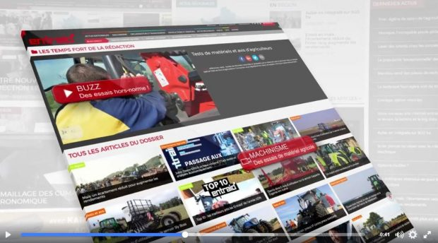 Site internet entraid magazine agriculture de groupe cuma