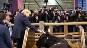 """""""Échec absolu"""" de la Politique agricole commune (PAC) de l'Union européenne selon Marine Le Pen."""