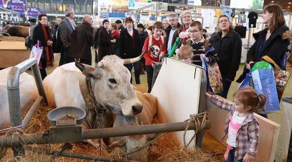 Les politiques attendus de pied ferme au salon de l - Salon de l agriculture machine agricole ...