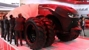 tracteur autonome Case IH