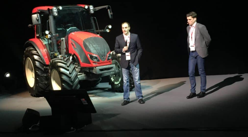 valtra T serie sima tracteur