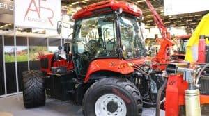 Le nouveau tracteurs Better de 180 ch peut aussi recevoir un jumelage pour augmenter ses capacités dans les pentes.