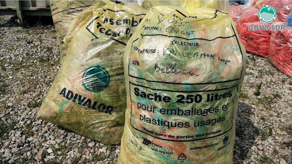 Plastiques agricoles Adivalor