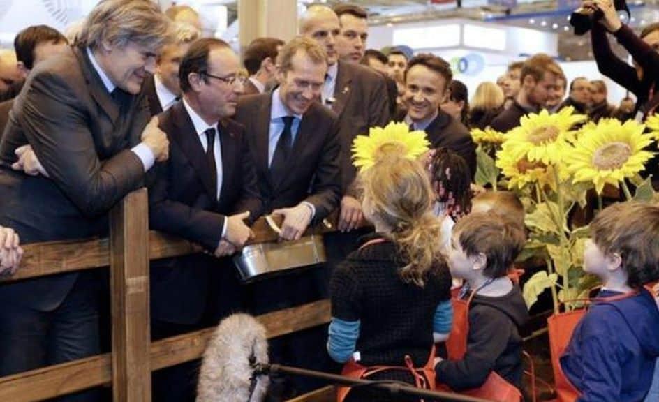 AFP En famille ou en sortie scolaire, le salon de l'Agriculture propose cette année de nombreuses activités pour les enfants.