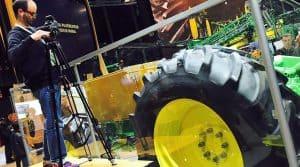 video reportage machinisme agricole tracteur sima