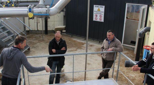 En accueillant les visiteurs sur leur site de production d'énergie, les associés construisent un pont entre activités agricoles et grand public.