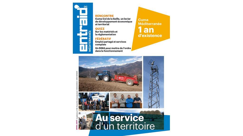 Votre Entraid spécial Méditerranée - avril 2017.