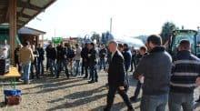 Les bâtiments de la cuma ont accueilli les participants à l'assemblée générale du Doubs, le 28 mars, au Russey.