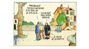 Pierre Samson dessin election presidentielle lambert fnsea le pen