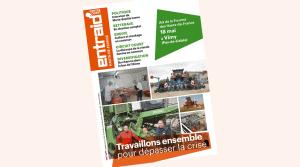 Votre Entraid spécial Hauts-de-France - mai 2017. Couverture Entraid édition spéciale départementale Hauts-de-France mai 2017 travail betterave chanvre machinisme