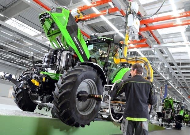 deutz-fahr land usine tracteurs