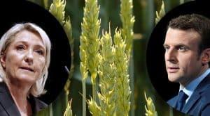 Marine Le Pen et Emmanuel Macron, projets pour l'agriculture