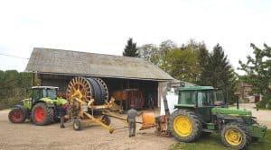 recyclage, tuyaux irrigation, broyage, Fédération des cuma du Loiret