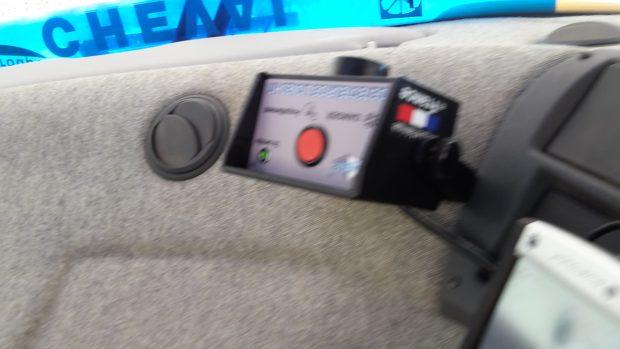 boitier cabine lignes électriques détecteur