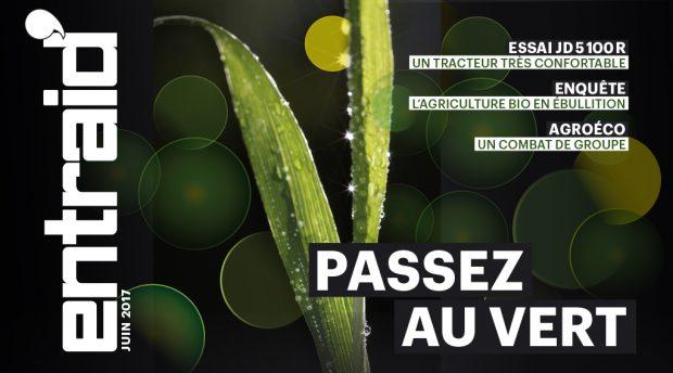 Machinisme, production, repères, régions et national : toute l'actualité des cuma et de l'agriculture de groupe dans le sommaire du magazine Entraid juin 2017