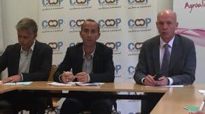 COOP DE FRANCE - agriculture biologique -juin 2017 - conférence de presse