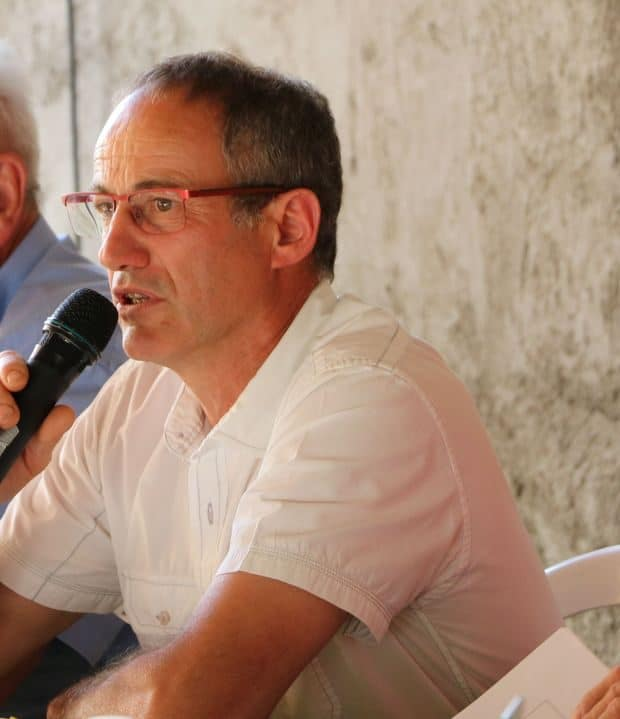Didier Perdrix, président de la fdcuma de l'Ain