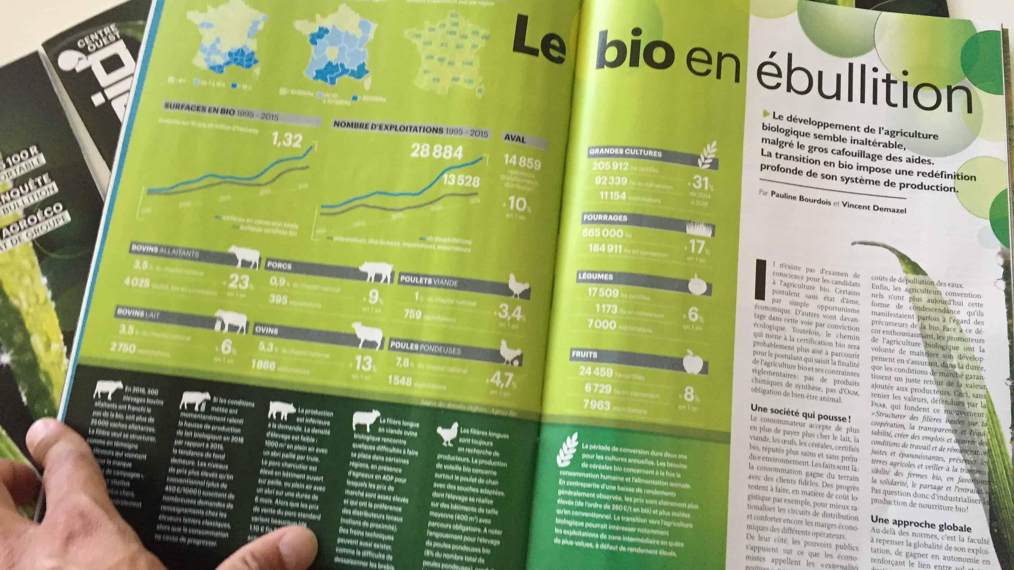 agriculture biologique entraid magazine juin 2017