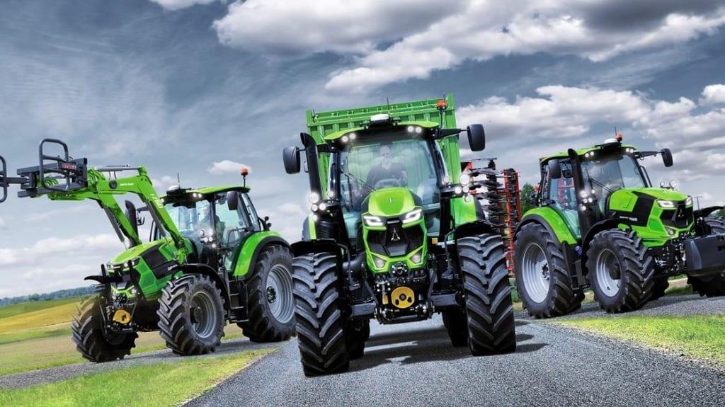 Tracteurs des gros 4 cylindres chez deutz fahr entraid - Image de tracteur ...