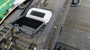 Système embarqué d'analyse de matière sèche sur ensileuse
