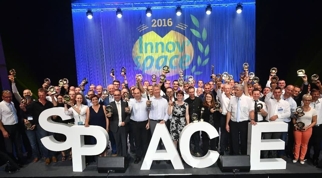 Les lauréats Innov'space 2016