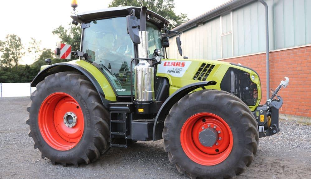Claas une nouvelle g n ration pour les tracteurs arion 500 et 600 entraid - Cars et les tracteurs ...