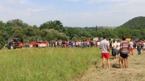 démonstration fenaison cuma landes béarn pays basque