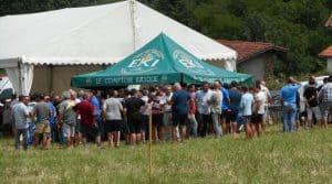 """La journée """"Fourrages"""" organisée au Pays Basque par la Fédération des cuma 640 a été une réussite."""