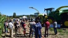 Plus de 90 personnes se sont retrouvées dans la Loire pour optimiser les réglages de l'ensileuse.