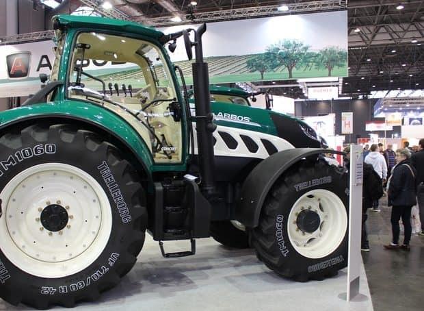 tracteur arbos 7000