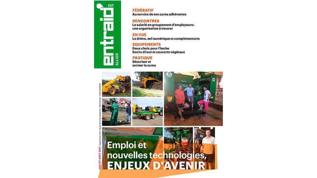 Entraid présente le supplément Entraid spécial Allier paru en juillet 2017.