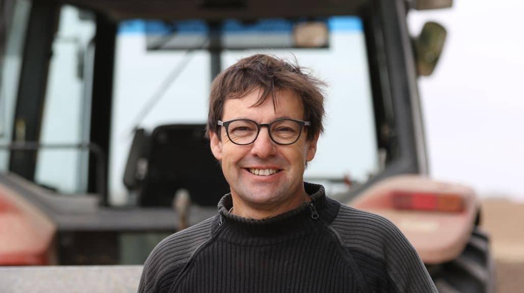 Fréderic Gond, 50 ans, est administrateur du géant Axéréal et président de la Commission «Jeunes» de la coopérative.