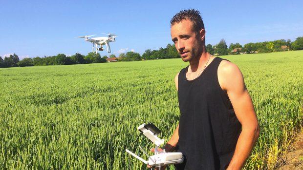 Jean-Loup Chatard drone EARL de Lunelle