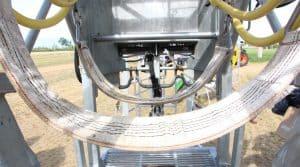 Cage de contention KVK HYDRA KLOV comportant différents éléments qui sécurisent l'homme tout autant que l'animal