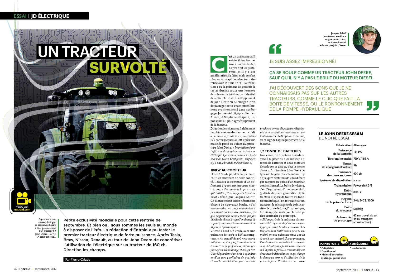 maquette entraid magazine cuma essai tracteur