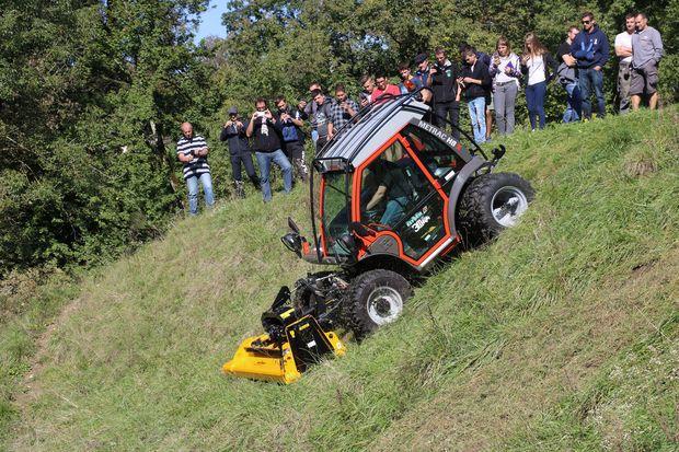 tracteur de pente montagne agricole