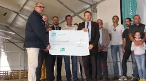 La Fédération des cuma de Haute- Vienne en partenariat avec le Crédit Agricole, ont décerné le 6 septembre les prix cuma à trois groupes