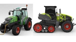 Axion 900 Terra Trac (Claas) – Tracteur semi-chenilles avec suspension intégrale avant et arrière
