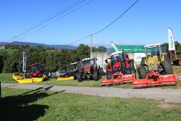 tracteurs de pente