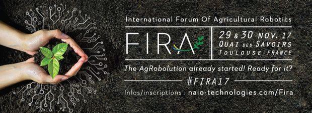 Rendez-vous au quai des savoirs pour tout connaître sur la robotique agricole avec le FIRA, organisé par Naïo Technologies, les 29 et 30 novembre.