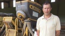 Allier : couverts végétaux à moindre coût - semis direct cuma des Fonds