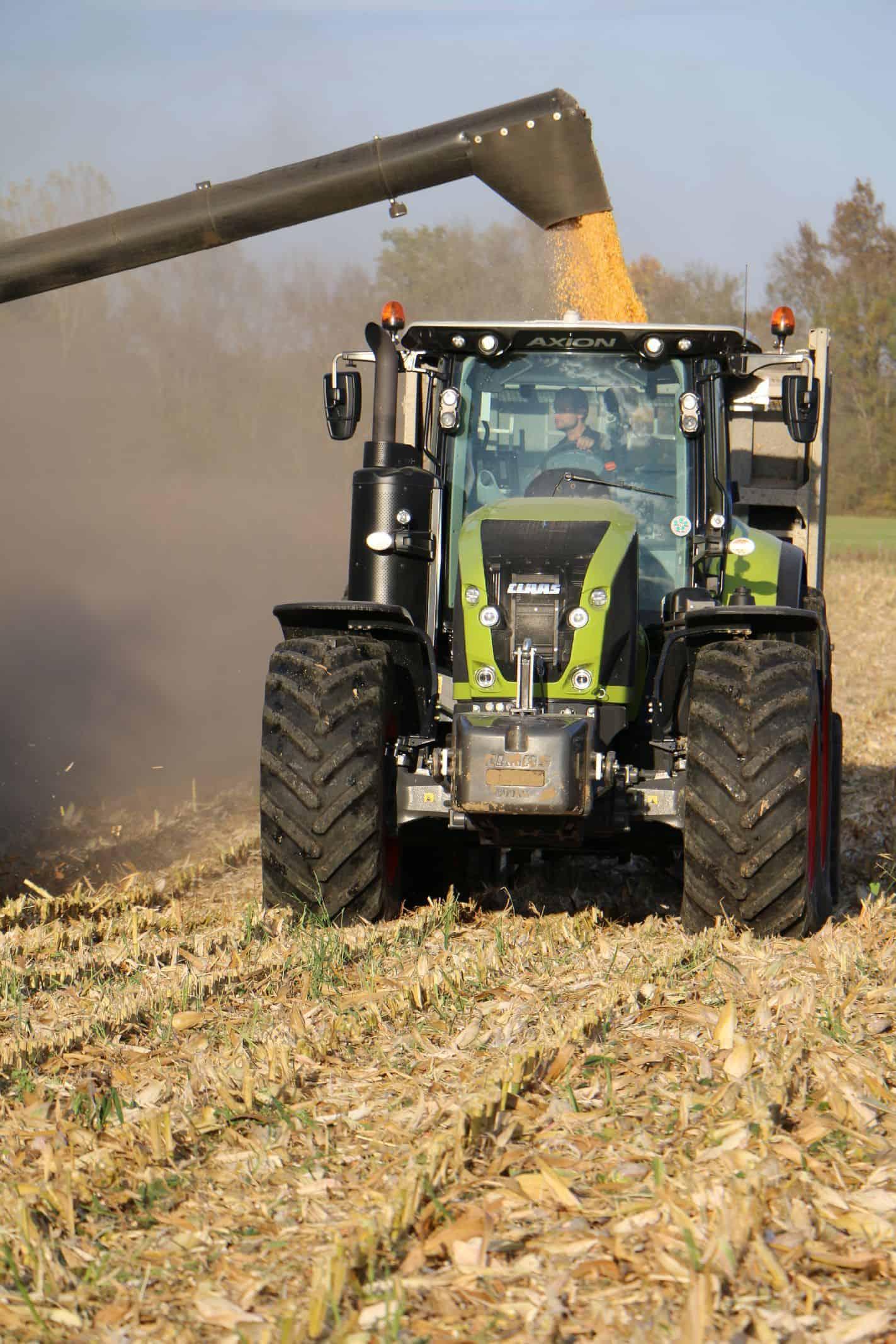 maïs grain recolte 2017
