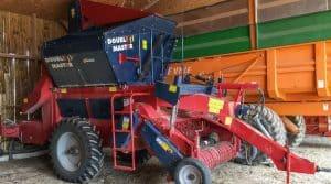 La cuma de l'Or Noir s'est équipée de matériels adéquats pour récolter 30 ha d'haricots