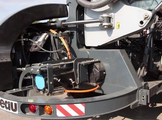 débroussailleuse rousseau e-Kastor électrique