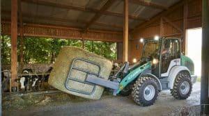 Kramer dispose aujourd'hui du plus gros gabarit dans le monde des chargeurs agricoles et a été récompensé lors du dernier Sommet de l'Elevage.