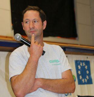 Philippe Rech, responsable de l'activité Epandage des lisiers à la cuma de Baraqueville en Aveyron.