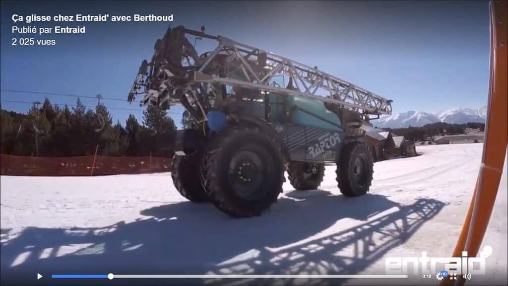 Dans les coulisses de notre prochaine vidéo Entraid hors-normes avec Berthoud.