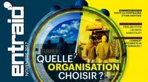 Tout le contraire d'une deux cheveaux, deutz-fahr, Rousseau épandage de fumier, comment s'organiser ? Entraid Magazine Gestion agricole novembre 2017